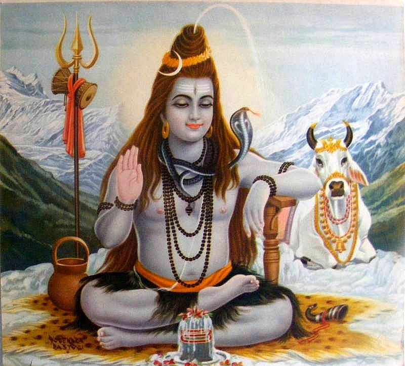 "alt=""LordShivaMahashivratri giving blessings"""